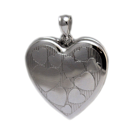 Cremation Ash Holder Locket W/Picture