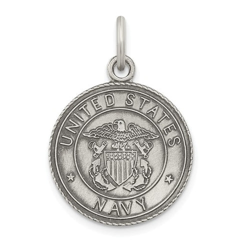 Sterling Silver US Navy Medal