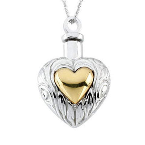 Heart Ash Holder W/Chain