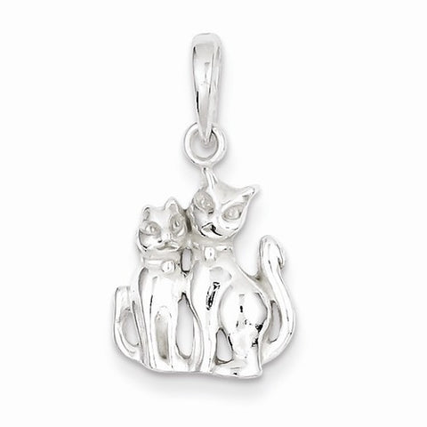 Two Cats Pendant