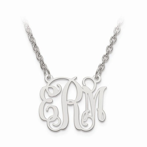 Laser High Polished Monogram Plate