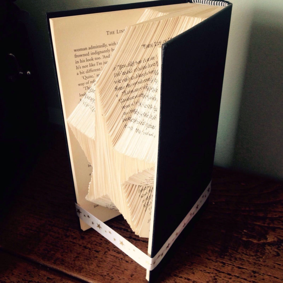 Folded Book Ornament