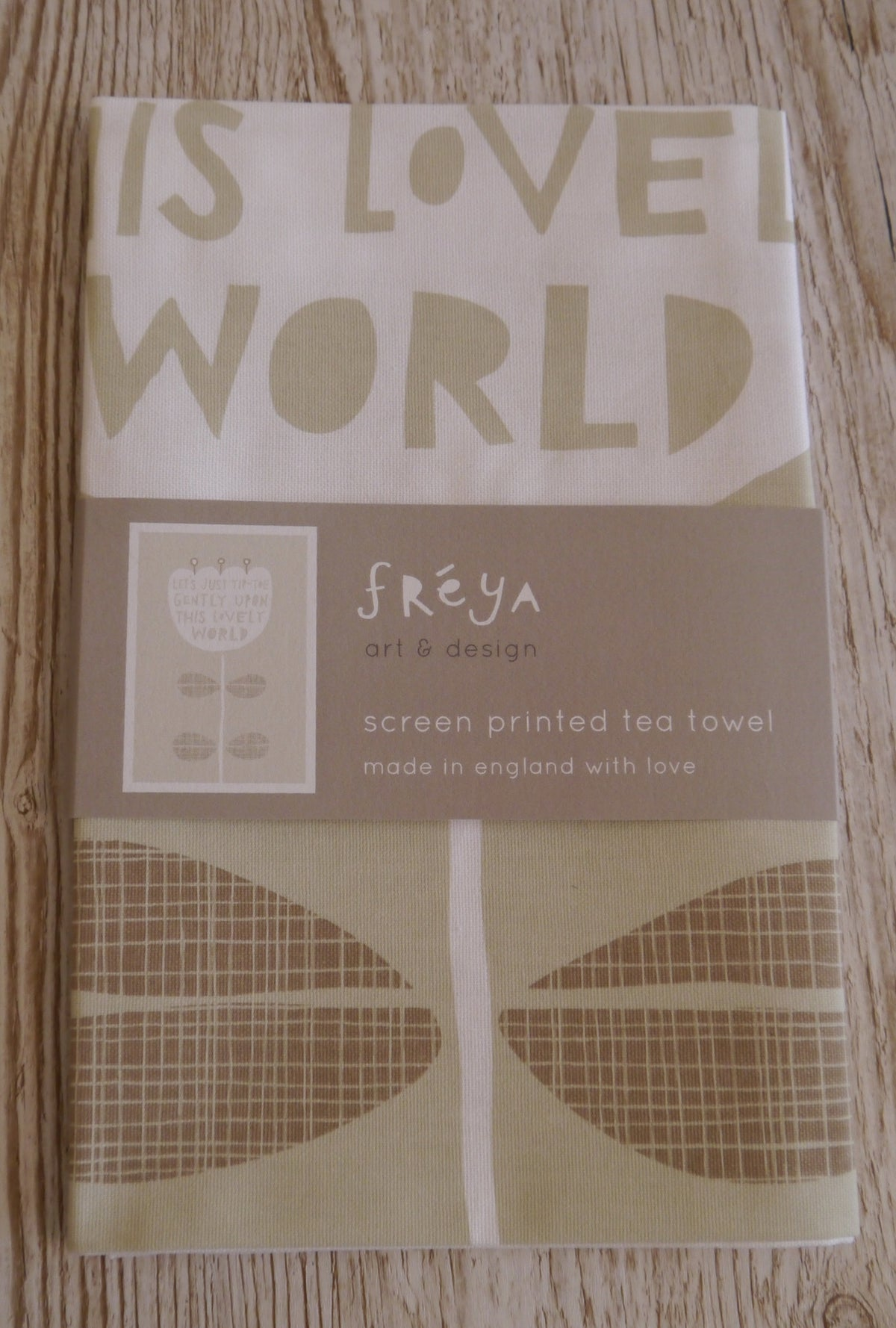 This Lovely World Tea Towel