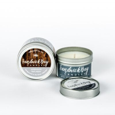 Small Soy Candle Travel Tin