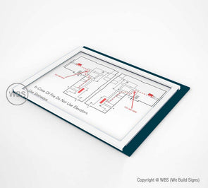Evacuation Sign - Egress Map - BAR 04 - WeBuildSigns (WBS)