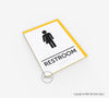 Gender-Neutral Restroom Sign - BAR 05 - WeBuildSigns (WBS)