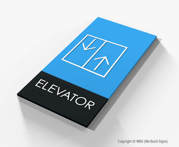Elevator Sign - BLA 14 - WeBuildSigns (WBS)