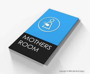 Mothers Room Sign - BLA 15 - WeBuildSigns (WBS)