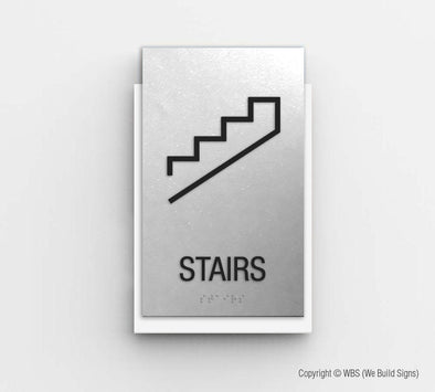 Stairway Sign - CLE 04 - WeBuildSigns (WBS)