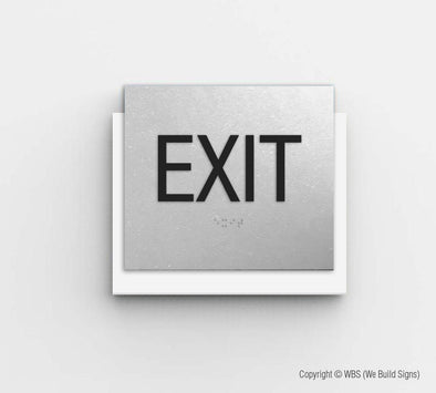 Exit Sign - CLE 17 - WeBuildSigns (WBS)