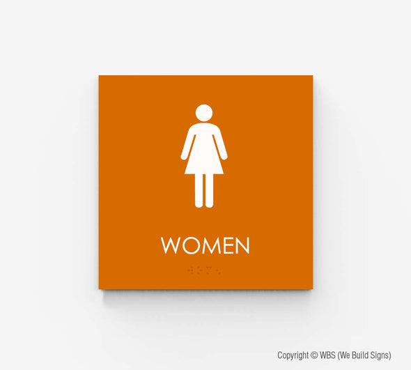 Women's Restroom Sign - ECO 05 - WeBuildSigns (WBS)
