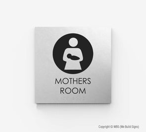 Mother's Room Sign - ECO 16 - WeBuildSigns (WBS)
