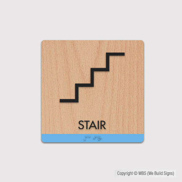 Stair Sign - FUL 03