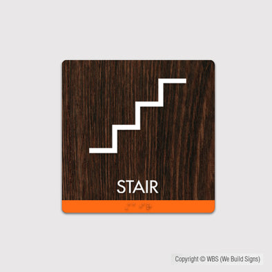 Stair Sign - FUL 03 - WeBuildSigns (WBS)