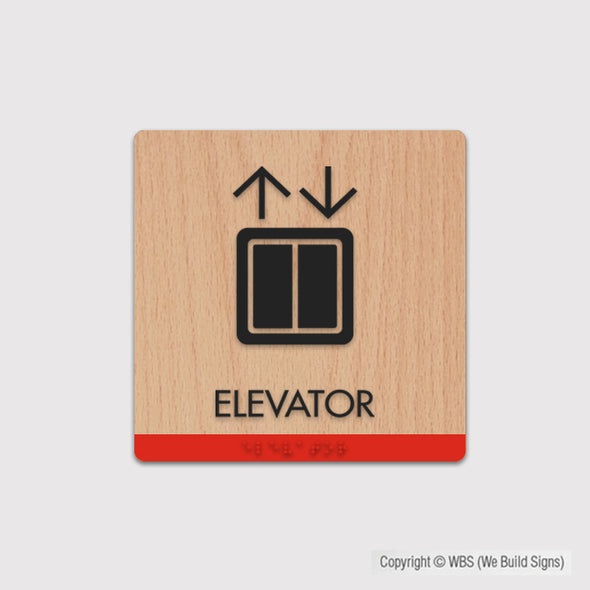 Elevator Sign - FUL 04 - WeBuildSigns (WBS)