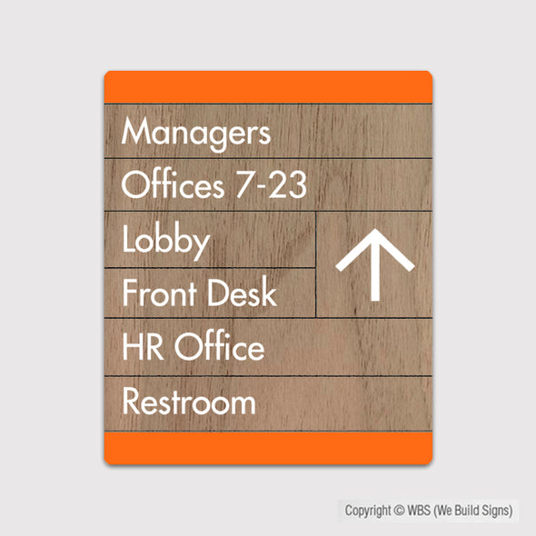 Building Directory Sign - FUL 05 - WeBuildSigns (WBS)