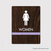 Women's Restroom Sign - FUL 09 - WeBuildSigns (WBS)