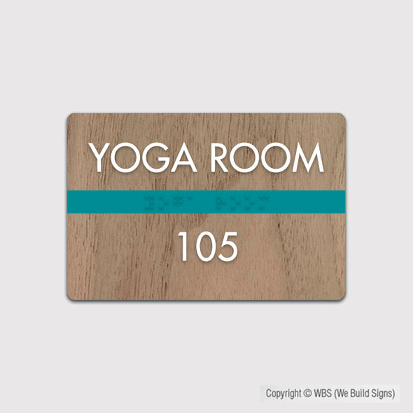 Room Identification Sign - FUL 18 - WeBuildSigns (WBS)