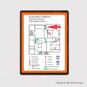 Map Insert Sign - FUL 21 - WeBuildSigns (WBS)