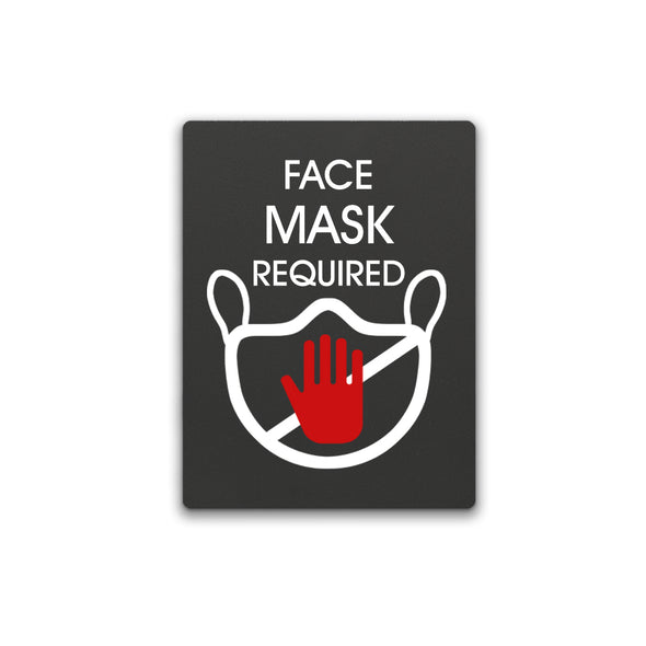 Face Mask Required Sign - WeBuildSigns (WBS)