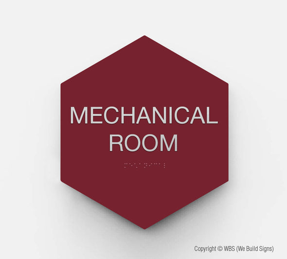 Room Identification Sign - GEO 12 - WeBuildSigns (WBS)