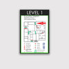 Egress Map Sign - HOR 21 - WeBuildSigns (WBS)