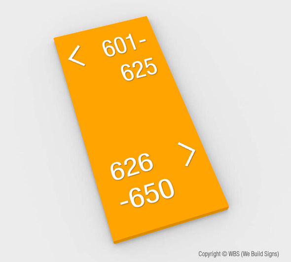 Directional Sign - MST 02 - WeBuildSigns (WBS)