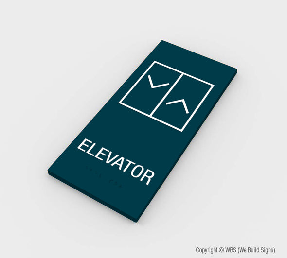 Elevator Sign - MST 03 - WeBuildSigns (WBS)