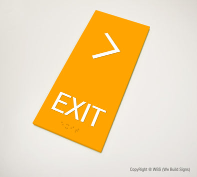 Exit Sign - MST 17 - WeBuildSigns (WBS)
