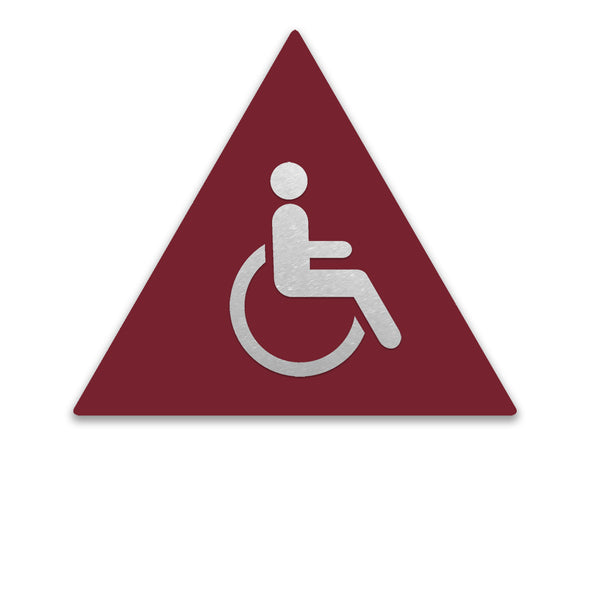Title 24 - California ADA Handicap Accessible Men Restroom Sign - WeBuildSigns (WBS)