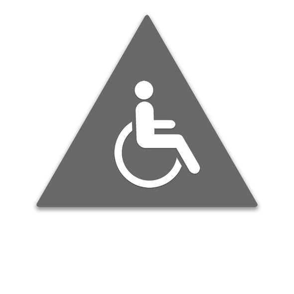 Title 24 - California ADA Handicap Accessible Men Restroom Sign