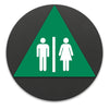 Title 24 - California ADA Accessible Unisex Restroom Sign (With Symbol)