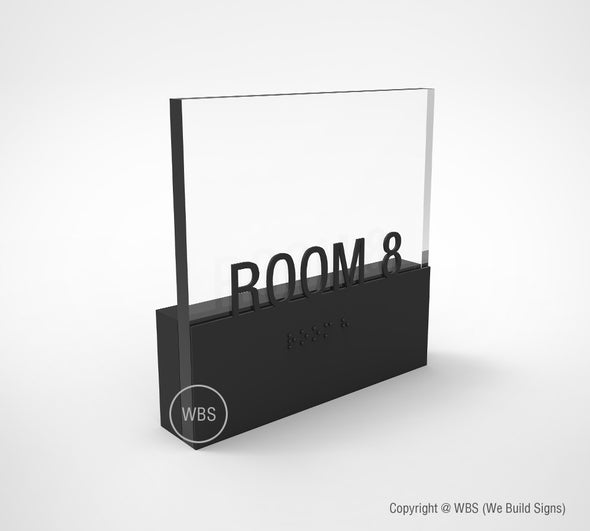 Room Sign - PRE 04 - WeBuildSigns (WBS)