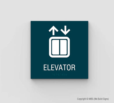 Elevator Sign - SDY 01 - WeBuildSigns (WBS)
