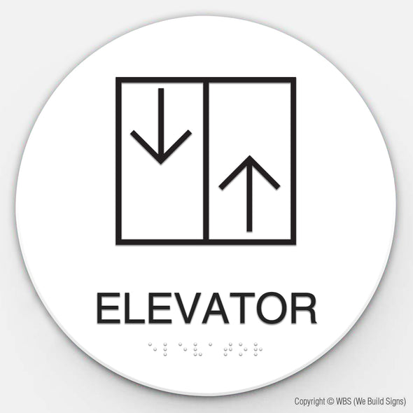Elevator Sign - TIR 06 - WeBuildSigns (WBS)