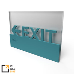 Exit Egress Sign - UBR 12