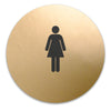 Title 24 - California ADA Accessible Women's Restroom Sign