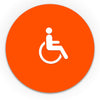 Title 24 - California ADA Handicap Accessible Women Restroom Sign - WeBuildSigns (WBS)