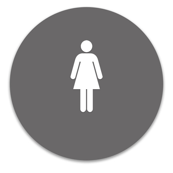 Title 24 - California ADA Accessible Women's Restroom Sign - WeBuildSigns (WBS)