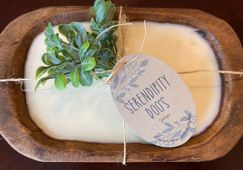 3 Wick | Dough Bowl Candle | 100% Soy Wax | French Boutique