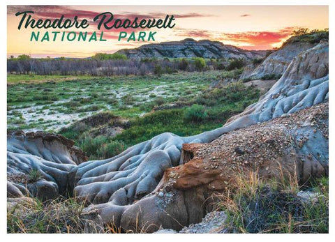 TRNP Badlands Postcard