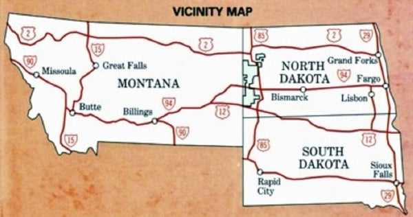 Little Mo Nat. Grassland Map