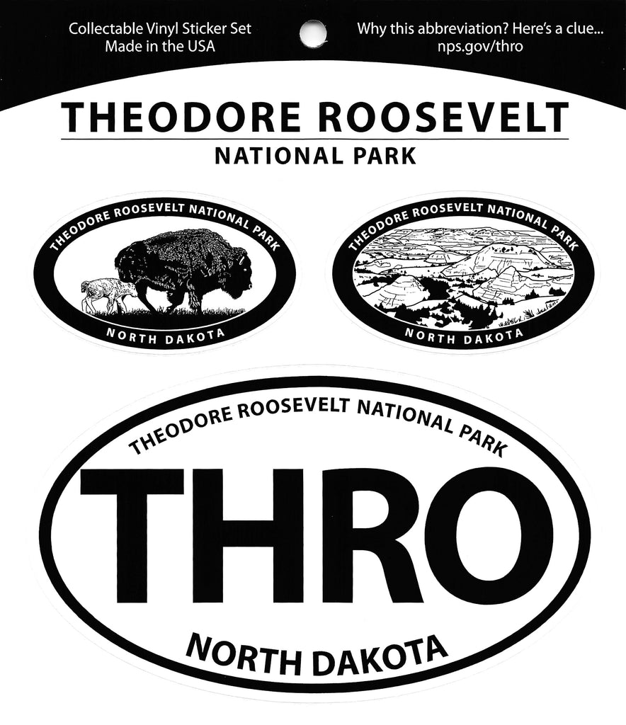 THRO Triple Decal Sticker