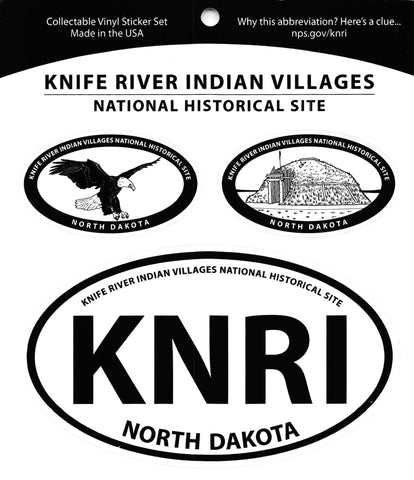 KNRI Triple Decal Sticker