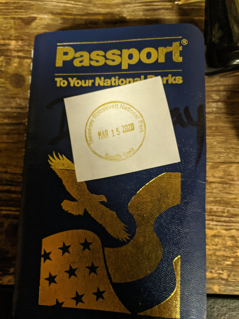 Passport Book Stamp - TRNP
