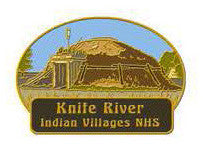 Knife River Earthlodge Pin