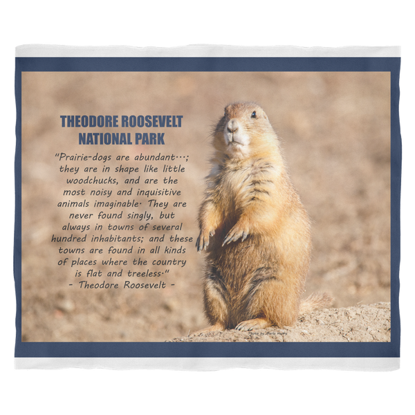Prairie Dog Fleece Blanket - Online Exclusive