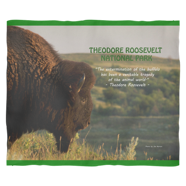 Bison Fleece Blanket - Online Exclusive