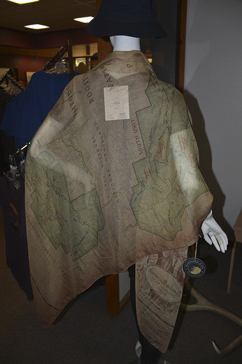 Map Scarf