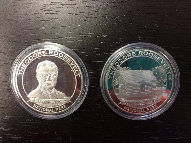 Theodore Roosevelt Silver Coin